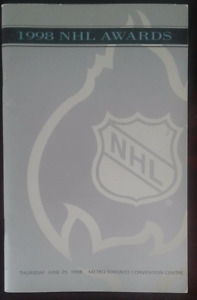 1998 NHL Awards Program - Rare