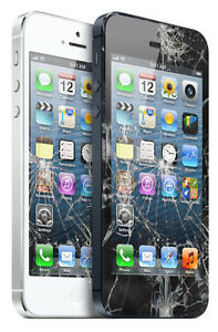 iPhone 5 Cracked Glass & LCD Screen Repair BEST PRICE $60