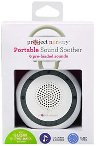 New Project Nursery Portable Nature Sound Soother for Baby