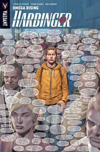Harbinger-Omega Rising Graphic Novel-Great looking copy