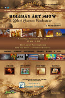 Holiday Art Show & Silent Auction Fundraiser