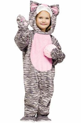 Brand New Little Stripe Kitten Cat Toddler Halloween Costume](Cat Halloween Costume Toddler)