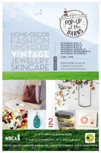 Pop Up at the Barns - Vendor Call (August/September/October)
