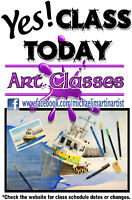 Art Lessons for the Beginner, Intermediate or Advanced Artist