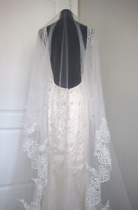 New cathedral lace veil