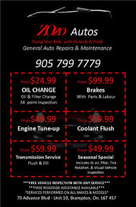 ***ZOZO AUTOS SPECIAL***Fixing Your Ride, With Honesty And Pride