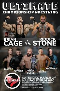 UCW: MADNESS featuring Brian Cage MAR 2 HFX FORUM MPC
