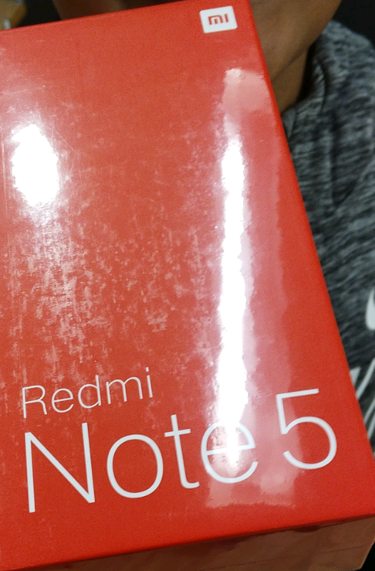 Xiaomi Redmi Note 5 4gb ram 64gb ROM brand new sealed global version | in  Castlereagh, Belfast | Gumtree