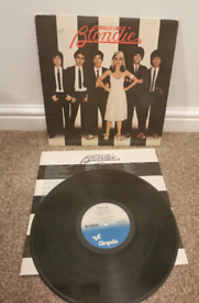 Blondie Parallel Lines vinyl first issue