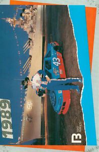 RICHARD PETTY 1989 USS NORTH CAROLINA NASCAR PHOTO POSTCARD Sarnia Sarnia Area image 1