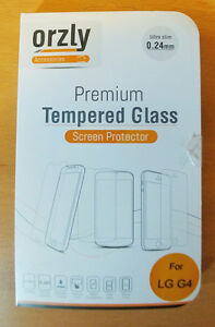 LG G4 Orzly Premium Tempered Glass Screen Protector
