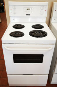 """White Frigidaire 24"""" Top Electric Stove"""