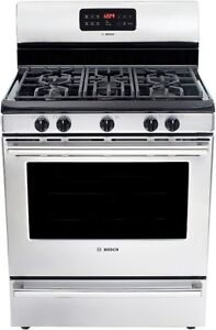 "HGS5053UC 500 Series Stainless Steel 30"" Gas Freestanding Range"