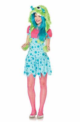 Brand New One-Eyed Erin Teen Monster Halloween Costume - One Eyed Monster Halloween Costume