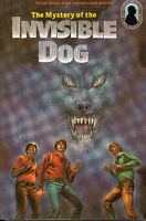 The THREE INVESTIGATORS Book #23: MYSTERY OF THE INVISIBLE DOG