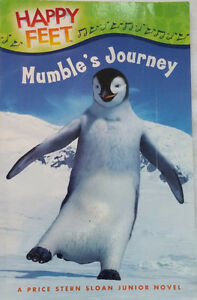 Happy Feet Mumble's Journey Junior Chapter Novel Book