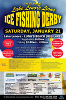 8th Annual Lake Lenore Lions Ice Fishing Derby