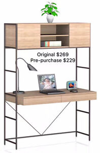 HOMETOWN FURNITURE - 20% Off Pre- Purchase Office Desk and Chair