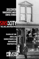 SINS of the City Walking Tours | Vice, Dice, and Opium Pipes