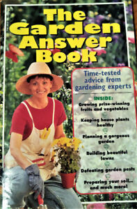 THE GARDEN ANSWER BOOK