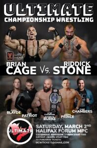 UCW: MADNESS featuring Brian Cage MAR 2 HFX FORUM