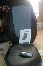 Shiatsu chair pad heat massager - Homemedics