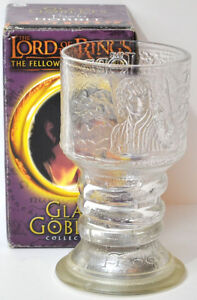 Lord of the Rings Four Glass Goblets with Lights Kitchener / Waterloo Kitchener Area image 2