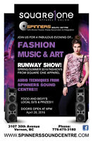 Square One Apparel 2016  Spring Summer Fashion Music Art Show