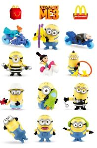 Brand New McDonald's Despicable Me 3 Minions Complete Set