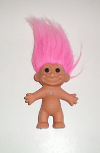Russ 4 Inch Troll with Pink Hair and Brown Eyes London Ontario image 1