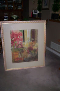 Framed picture under glass Kitchener / Waterloo Kitchener Area image 1