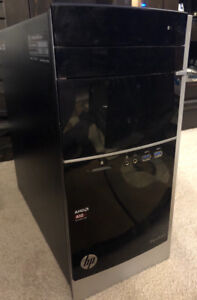 HP Pavillion 500 series with upgraded video card