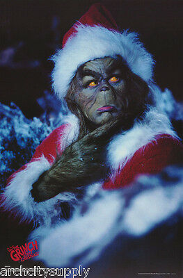 Lot Of 8 Posters: Movie Repro: How The Grinch Stole Christmas