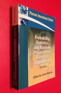 Probability, Statistics, and Random Processes For Electrical Eng