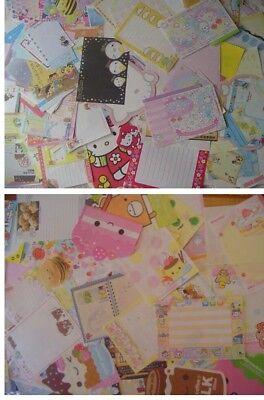 Kawaii Kamio, Q-Lia, Crux, San-x  mini memo  sheet sample bundle loose stickers
