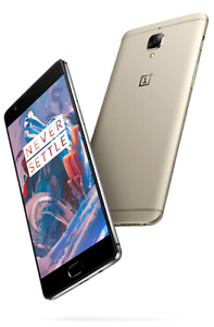 ONEPLUS 3  64G AND 6G OF RAM ( GOLD)