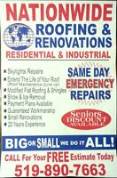 ROOF SPECIALIST SHINGLE & FLATS,REPAIRS STARING@ 150
