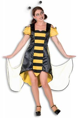 Biene Bienen Damen Schmetterling Kostüm Kleid Tier Hummel Wespe Perücke Horniße