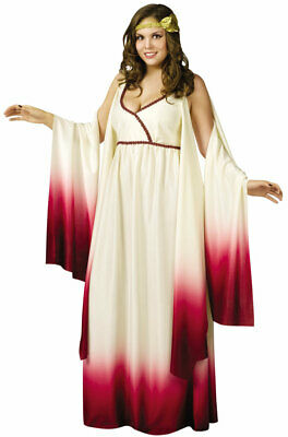 Brand New Greek Venus Goddess of Love Plus Size Halloween Costume