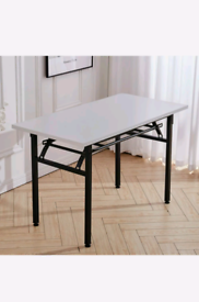 Foldable table 100×60x75 WHITE