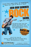 Summer Rock Skool at Long & McQuade Woodstock!