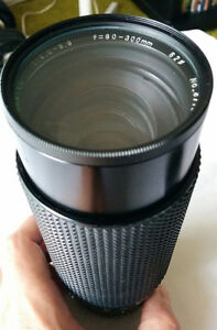 Sears 60-300mm F4.0-5.6 with 62mm Clear Filter London Ontario image 4