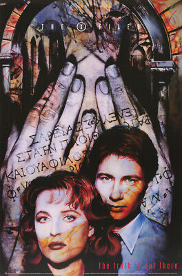 POSTER : TV : X-FILES - MULDER & SCULLY -   FREE SHIPPING ! #3008 RW17 E