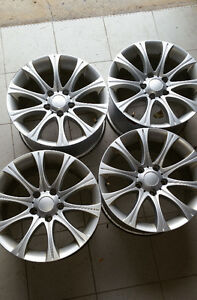 "Set of 17"" alloy rims 5x120 for GM West Island Greater Montréal image 1"