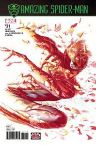 AMAZING SPIDER-MAN #31 MAIN COVER ALEX ROSS MARVEL COMICS NM.