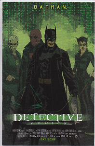 Detective Comics #40 Matrix movie poster variant cover, Batman