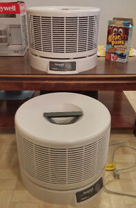 2 Honeywell Envirocare Hepa Air Filters