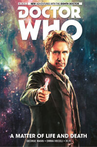 DOCTOR WHO Hardcover Graphic Novel - 8th Doctor - A Matter of Li