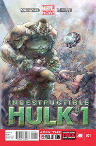 INDESTRUCTIBLE HULK RUN FROM #1 to #15