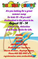 Summer Acting /Dance camps